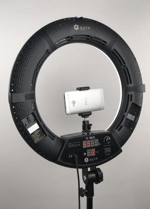 Кольцевая светодиодная лампа на штативе FD 480 | Селфи LED кольцо