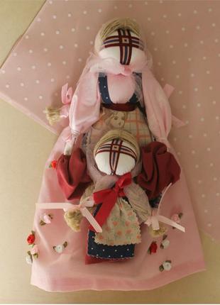 Сувенірна лялька мотанка «Ведучка»