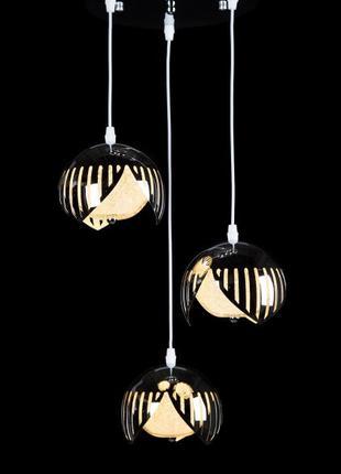 Подвесная LED люстра L527H/3 (CR)