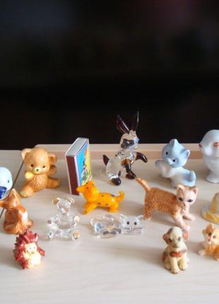 Статуэтки-мини,животные,отличное состояние,коллекция
