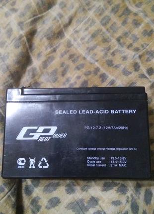 Аккумуляторные батареи GP PG 12-7,2