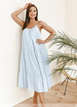 Летнее платье,сарафан размеры 48-58