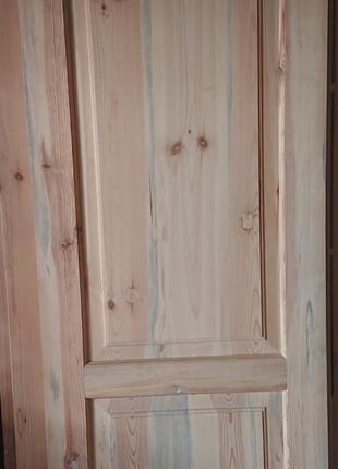 Комплект дверей сосна (натуральное дерево, ручная работа) НОВЫЕ