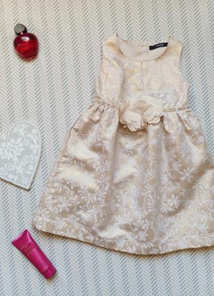 Платье на девочку стильное George