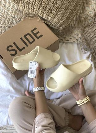 Хит лета 2020 крутые женские сланцы шлёпанцы adidas yeezy slid...