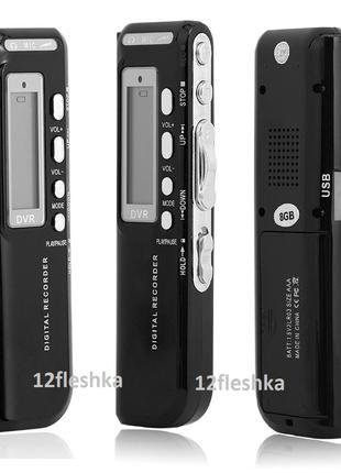 Цифровой Диктофон плейер флешка 8gB MP3 USB c2ААА