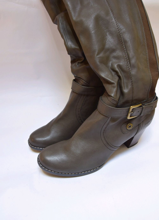 Сапоги tom tailor. брендове взуття stock