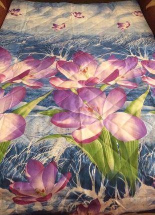 Красивые качественные одеяло(летнее)покрывало! разные расцветк...