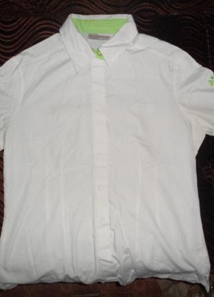 Рубашку для девочки белую