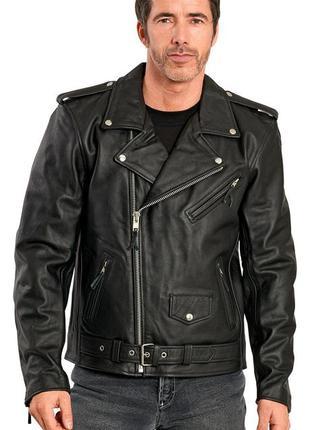 Кожаная мотокуртка highway 1 pilot fashion leather jacket