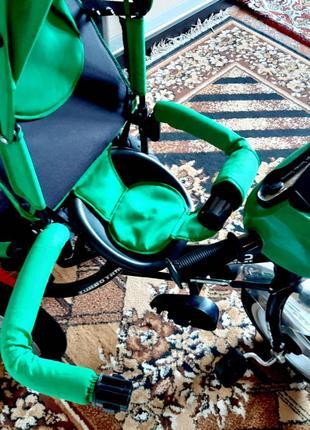 Детский велосипед каляска трехколесный