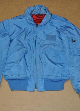 Aviation usa бомбер куртка мужской дутый