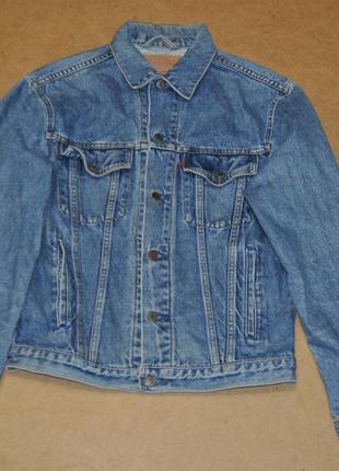 Levis куртка джинсовая джинсовка s