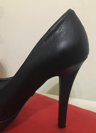 Roberto santi 23см кожа туфли кожаные