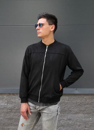 Бомбер куртка asos black
