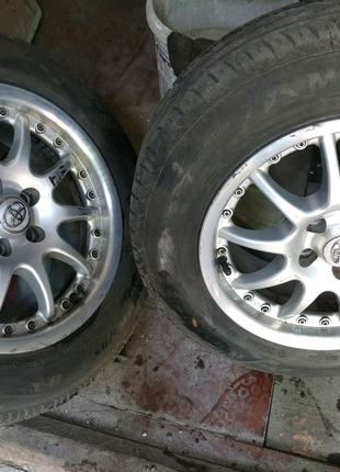 Продам диски R15 5x100 7j et38 made in Germany
