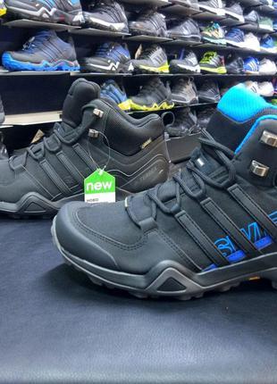 Оригинальные ботинки Adidas Terrex Swift R2 Mid Gore-tex AC777...