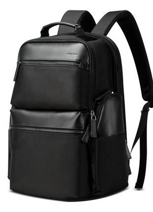 Городской мужской черный рюкзак BOPAI для ноутбука с USB