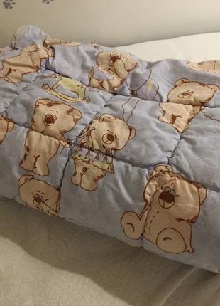 Одеяло детское Billerbeck 125х103 овечья шерсть