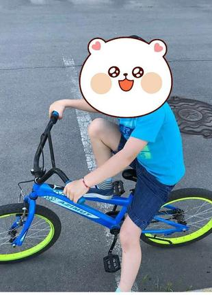Велосипед. Детский велосипед. Велосипед двухколёсный. Azimut в...