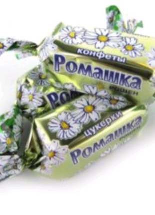 Цукерки Ромашка фірми Рошен 1 кг