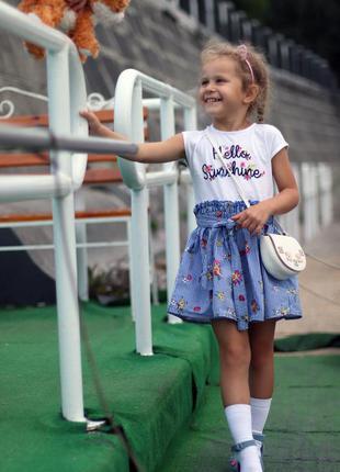 Красивое и модное платье для девочки lc waikiki  рост 104-110см
