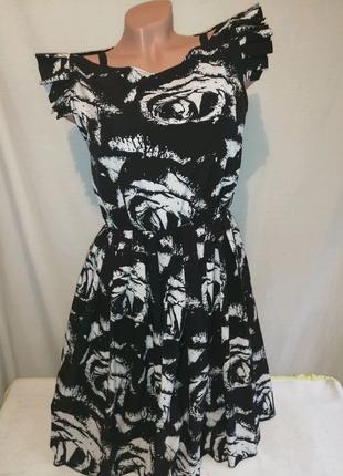 Платье сарафан с цветами