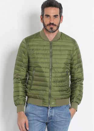 Новый ultralight пуховик add италия бомбер куртка на пуху 100%...