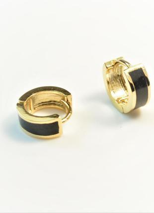 Сережки кольца - серьги колечки