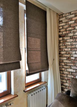 Римские шторы. Тканевые ролеты. Рулонные шторы. Жалюзи. Роллеты