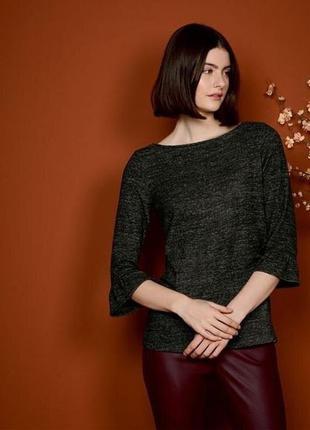 Кофта, пуловер с воланами, ангора, m 40-42 euro, esmara, германия