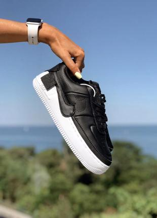Кроссовки nike air force jester black / white