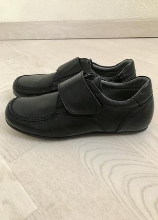 Детские кожаные туфли-мокасины для мальчика, италия