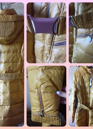 Теплая зимняя куртка Bright пух XL