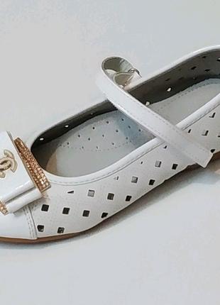 Туфли для девочки 30-34 размер.