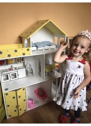 Кукольный домик для Барби Лол Домик для кукол
