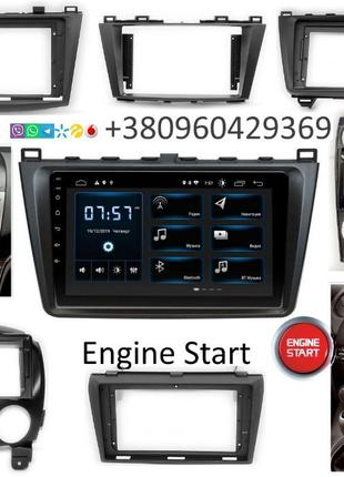 Штатная магнитола Android Mazda 2 3 5 6 CX-5 CX-7 CX-9 GPS USB...