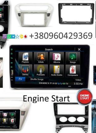 Магнитола Android Peugeot 3008 2008 301 307 Citroen C-Elysee C...