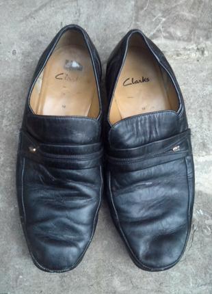 Туфли кожаные мужские Klarks размер 44