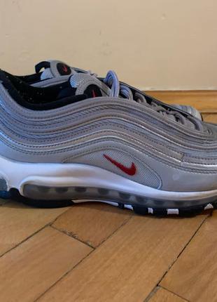 "Кроссовки Nike Air Max 97 ""Silver Bullet"" 25см, 40 размер"