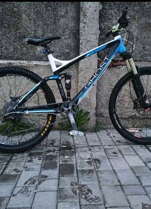Велосипед двухподвес.