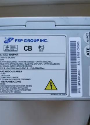 Блок питания FSP ATX-400PNR 400W