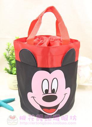Детская сумка для ланча микки маус