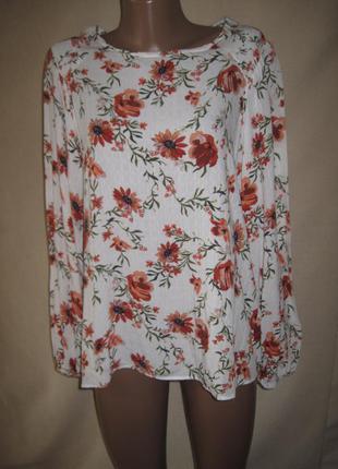 Вискозная блуза спенсер р-р14