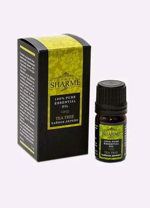 """Натуральное Эфирное масло """"Sharme Essential""""- Чайное дерево 5 мл."""