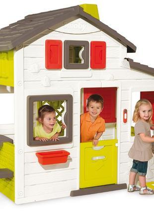 Игровой детский домик Smoby с летней кухней 810200