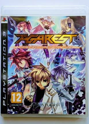 AGAREST Generations of War PS3 playstation 3 диск