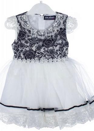 детское шифоновое платье