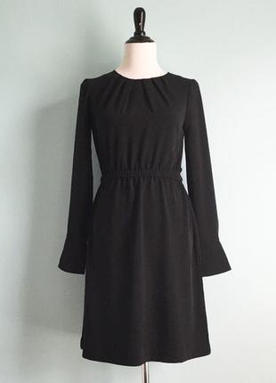 🔥🔥🔥классическое черное платье, h&m, м