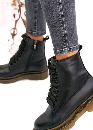 Зима ботинки женские